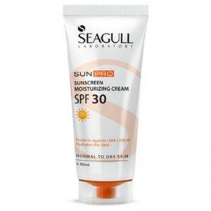 ضد آفتاب سی گل با spf 30 برای پوست خشک تا نرمال