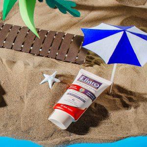 ضد آفتاب کرم پودری با spf25
