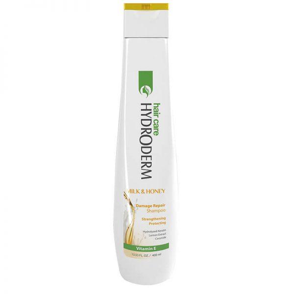شامپو ترمیم کننده مو حاوی شیر و عسل